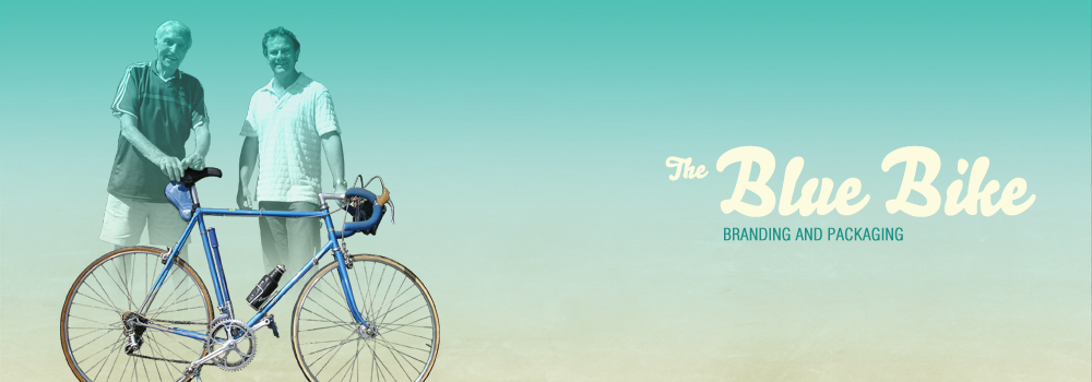 Blue Bike Packaging and Branding